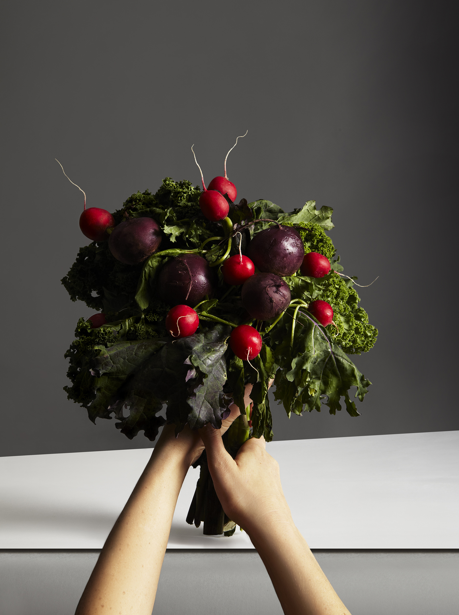 katie hammond love veg red roses still life food photography