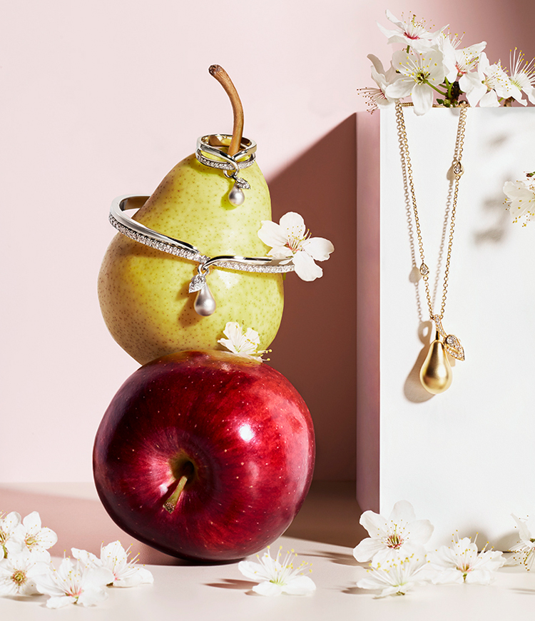katie hammond boodles orchard collection still life photography adverisingt campaign